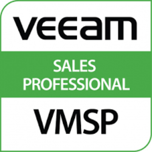Veeam Certified - Sales Professional
