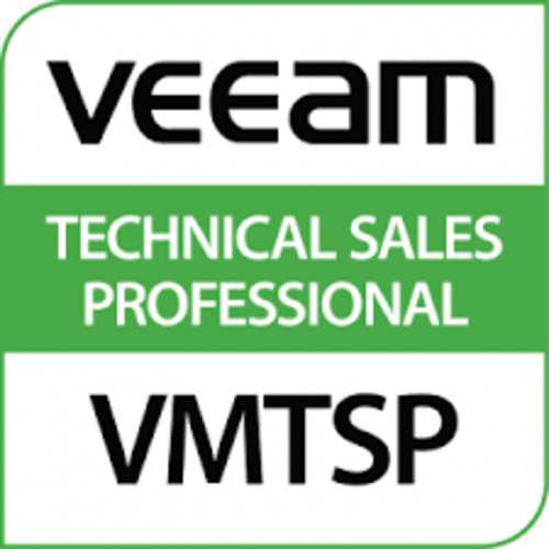 Veeam Certified - Technological Sales Professional